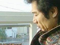 Japanese MILF enjoys hot sex part1