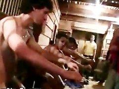 Naked frat teens hazed