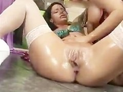 Blonde whore gets her tight pussy fisted part4