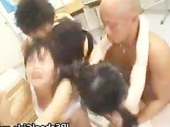 Asian schoolgirl gets fuck in class part5