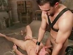 Super hardcore gay BDSM video clip part2