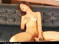 Choompo with a big dildo asian amateur part2
