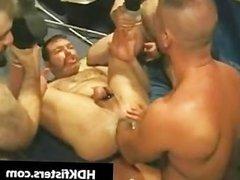 Super hardcore S&M gay asshole fisting part1