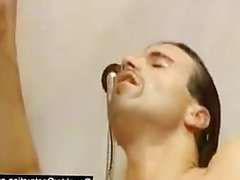 Young girl monsterfucked in her mouth and pussy