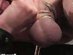 Extreme hardcore gay bondage part2