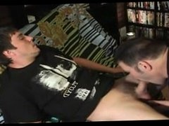 str8 guy gets sucked, rimmed, and swallowed