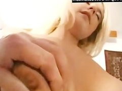 Cute girl takes her first huge cock