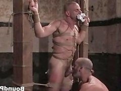 Extreme hardcore gay BDSM video clip part3