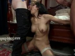 Asian sex slave incredibly fucked
