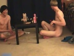 Super hot gay teens having a game party part3