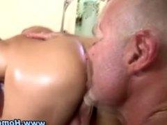 Gay fucks straighty up his ass