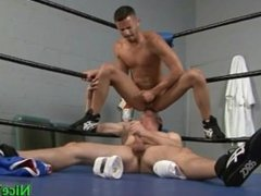 Dallas and mario fucking in boxers ring part2
