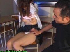 Cute asian schoolgirl fucked hard part5