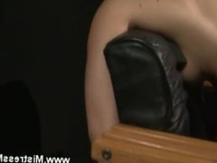 Lezdom pussypumping action with toy cock