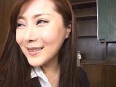 Mei Sawai Japanese is a making out school teacher part4