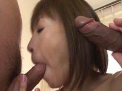 Fine ass slut Jun Kusanagi in gangbang part2