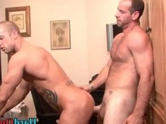 Two hot guys fucking ass and sucking part6