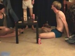 Super hot gay teens having a game party part6