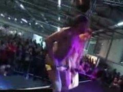 Scandalous sexual behavior on stage
