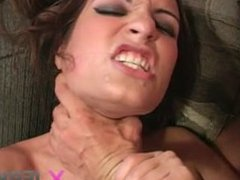Teen Amber Rayne blows and fucks