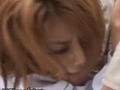 Akane Hotaru Hot Asian model gets part5