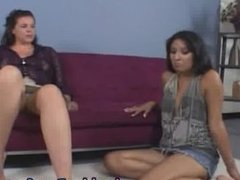 Hot Lesbians Pussy Licking and Toes part5