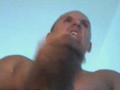 Huge Dick Guy Jerking Hard