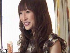 Cute Japanese teen girl strips part2