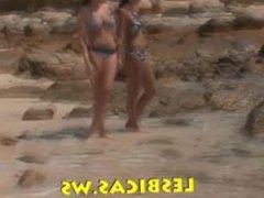 Nice Lesbians on the beach