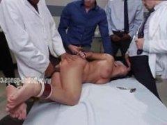 Hot asian brunette tortured