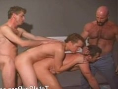 Hard fucking group scene