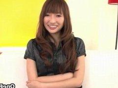 Cute Japanese girl loves talking part4