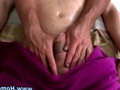 Gay eats straight cock