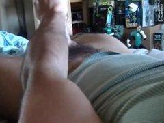 jock shoots big load