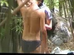 Fuck in the forest 5 by GotCuteAsian part6