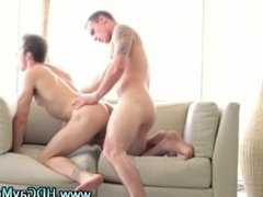 Gay couple passionate anal