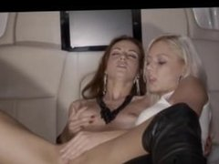 group fuck in the luxury limo