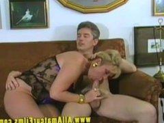 Hot hairy FFM threesome
