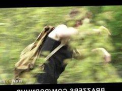 HOT & horny warrior woman Eloa Lombard fucks a hiker in the woods