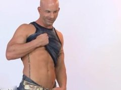 Amazing bald stud posing 1 by MarriedBF part5