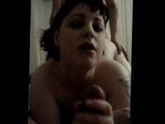 Being fucked by a VERY large penis, part 1