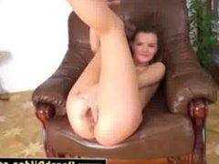 Hot teasing dildo loving MILF
