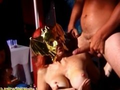 Latina wild parties hard group fuck and oral jobs sex