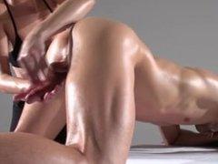 Mind blowing boner massage