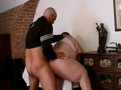 BBW brunette gets fucked in her pussy part6