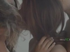 two luxury brunette fuck with guys