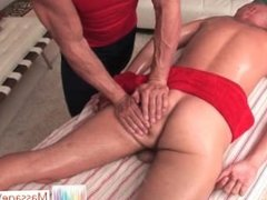 Troy is getting his great hard cock massaged and than sucked By Massagevict