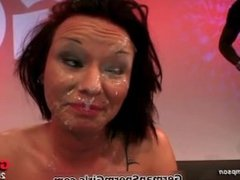 Filthy GGG whore gets her face covered part2