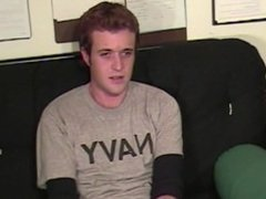 Twink boy in the interview with Scott