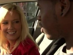 Blonde MILF gets dicked and jizzed